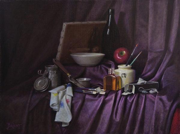 Les Accessoires et le matériel du débutant en peinture réaliste